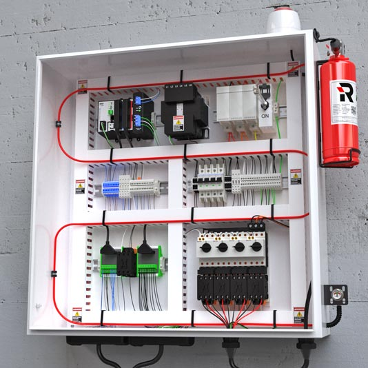 01-Reacton-Direct-Release-System-Electrical-Cabinet-02