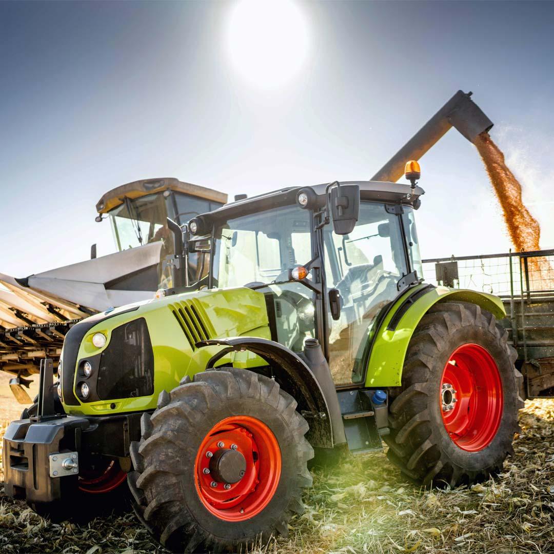 Tractor Fire Suppression